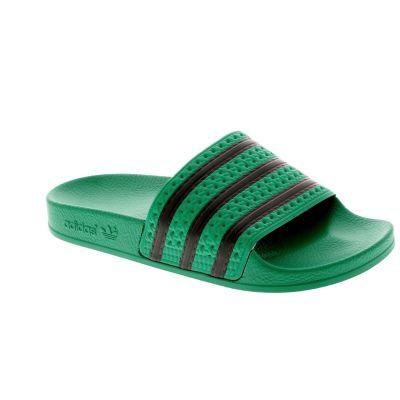 c3ab13565ae adidas originals Slippers groen - kleertjes.com
