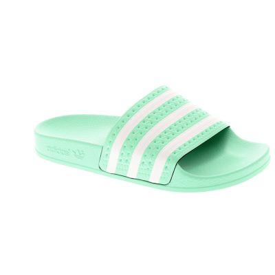 3e559021174 adidas originals Slippers groen - kleertjes.com
