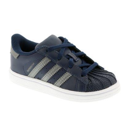 adidas superstar blauw kind
