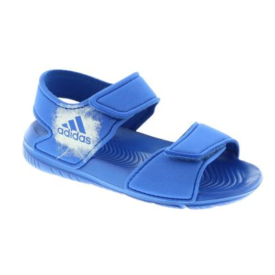 separation shoes eb851 132b5 adidas Performance Sandalen blauw - kleertjes.com