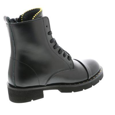 8e30184aa44 Hip Enkellaarzen zwart - kleertjes.com