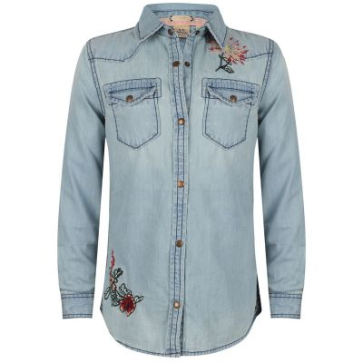 Indian Blue Jeans Blouse