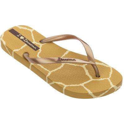 Ipanema Slipper women i love safari caramel gold online kopen