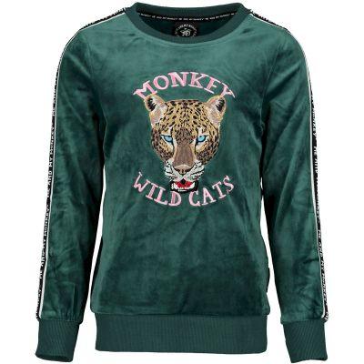 Me & My Monkey Sweater groen |