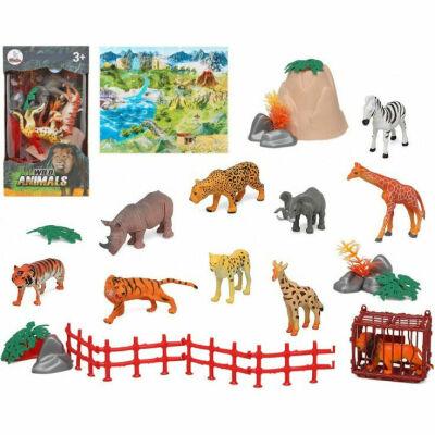 x Plastic zeedieren speelgoed figuren voor kinderen