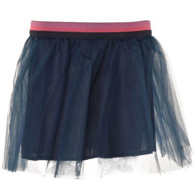 653931f8af2545 Moodstreet Rok blauw - kleertjes.com