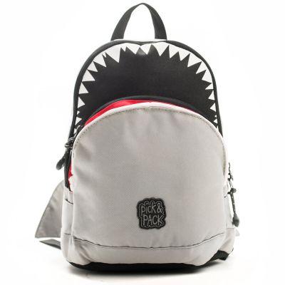 9af8f086699 Pick & Pack Rugzak grijs - kleertjes.com