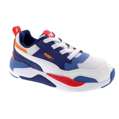Puma X-Ray 2 Square AC PS sneakers wit/rood/blauw/oranje online kopen