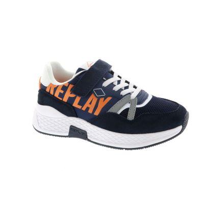 REPLAY Amber sneakers donkerblauw online kopen