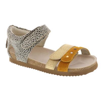 Shoesme BI21S076-B leren sandalen beige/multi online kopen