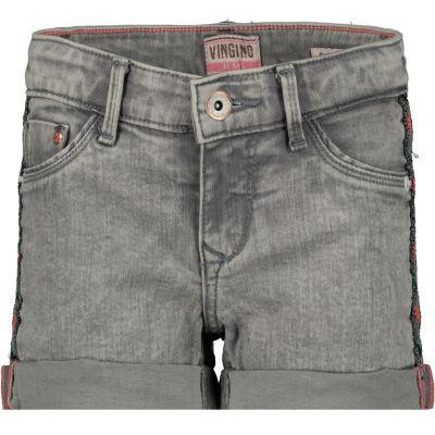 ef704f5b05cf41 Vingino Korte broek grijs - kleertjes.com