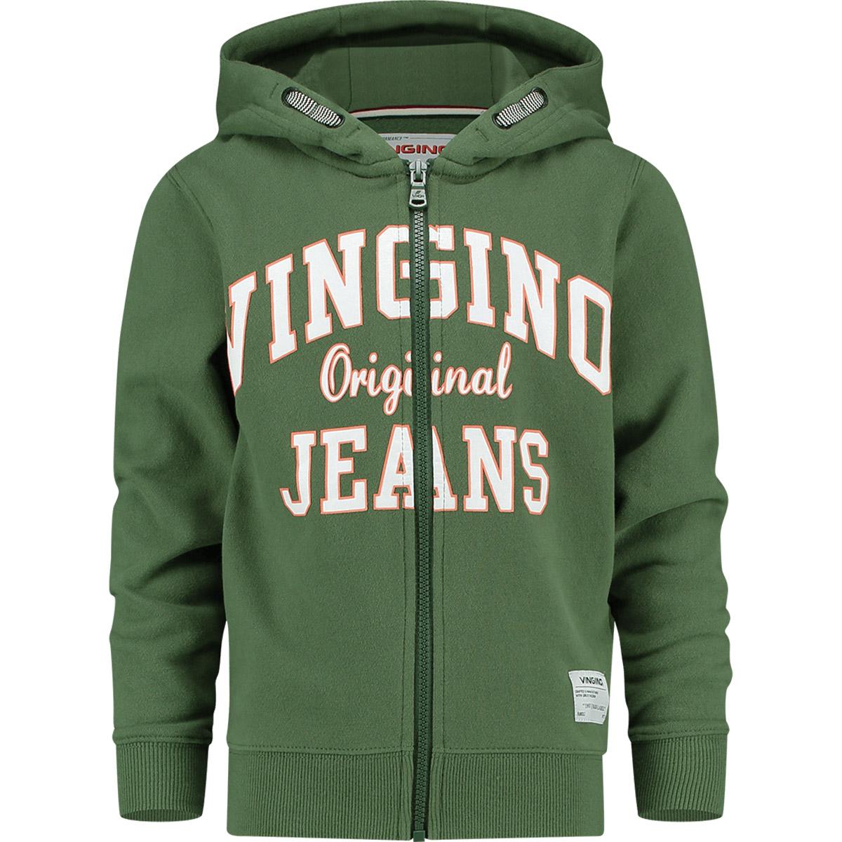 ad16380270a6e9 Vingino Vest groen - kleertjes.com
