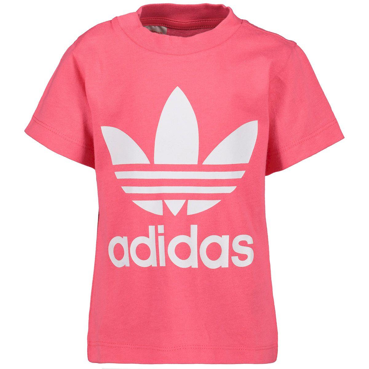8cd86e912ff117 adidas originals T-shirt roze - kleertjes.com