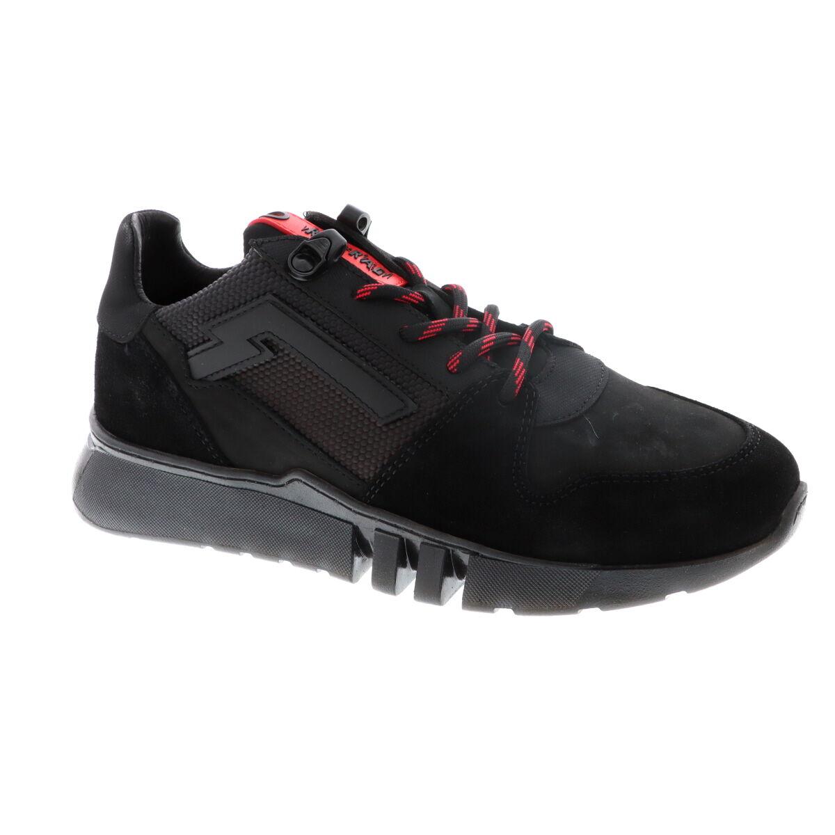 Red Rag 13215 suède sneakers zwart online kopen