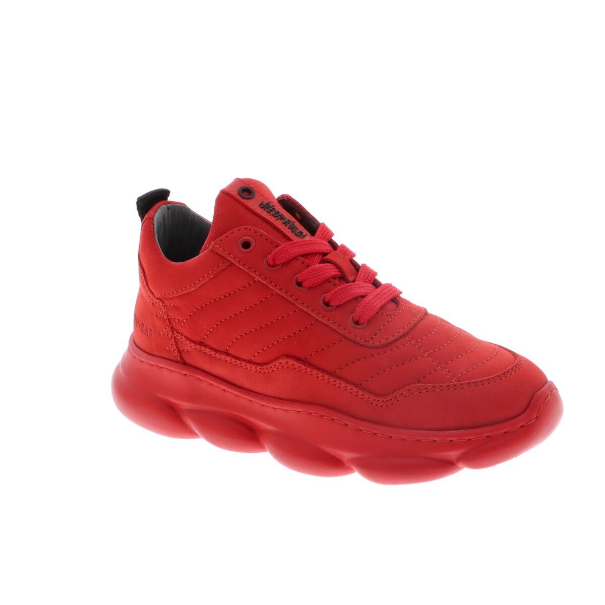 Red Rag 13541 nubuck sneakers rood online kopen