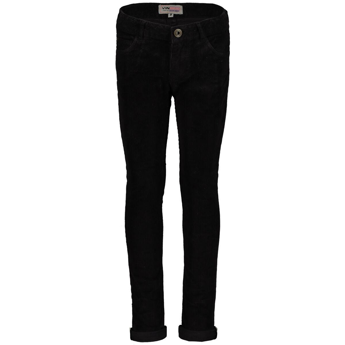 vingino lange broek zwart kleertjes
