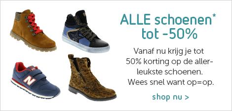 ALLE schoenen tot 50%