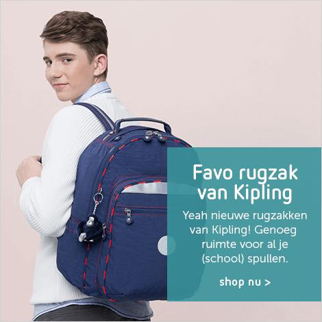 Kipling rugtassen