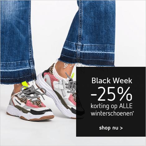 Black week - schoenen
