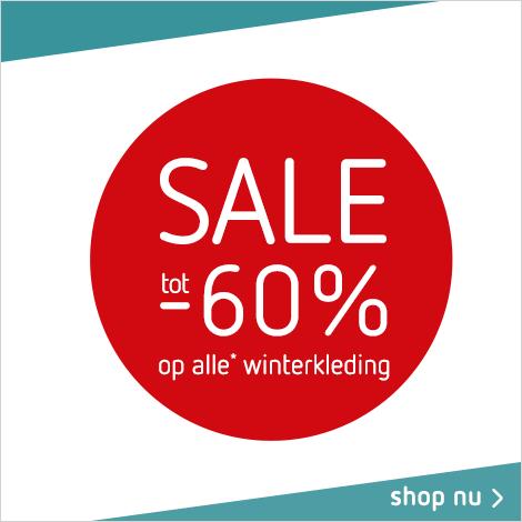 Sale tot -60% op alle winterkleding