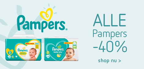 Alle Pampers -40%