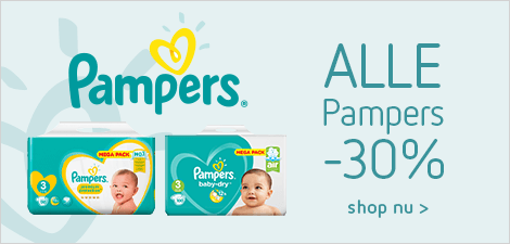 Alle Pampers -30%