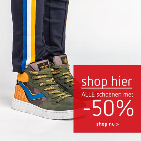 Shop hier alle schoenen met -50%