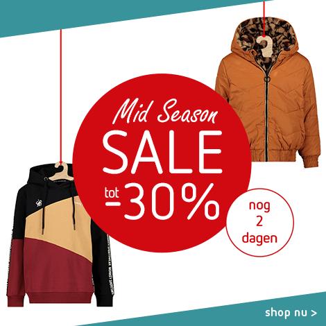 Mid Season Sale tot -30% - nog 2 dagen