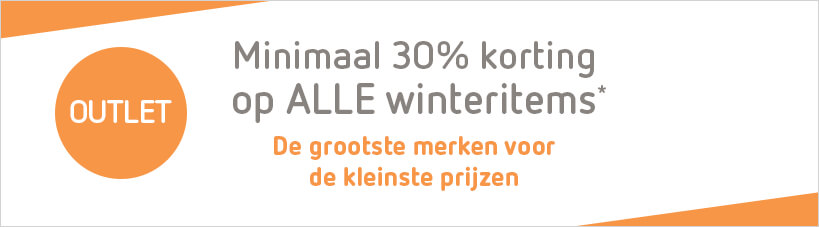 Outlet -30% winteritems