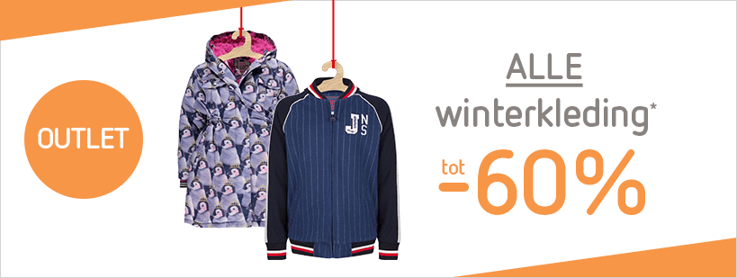 Outlet tot -60% alle winterkleding (10-12)