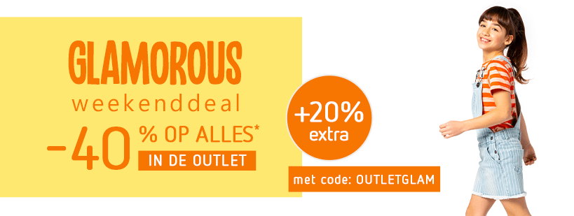 03-04 Outlet - Glamorous Weekenddeal-40%