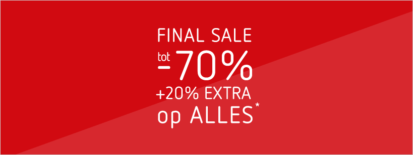 03-08 FINAL SALE: tot - 70% + 20% EXTRA